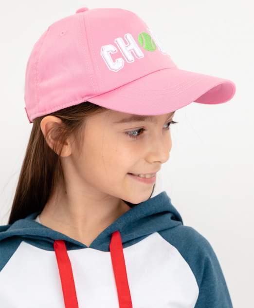 Кепка детская Button Blue, цв. розовый р-р 54
