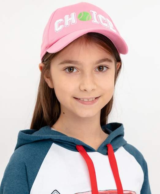 Кепка детская Button Blue, цв. розовый р-р 50-52