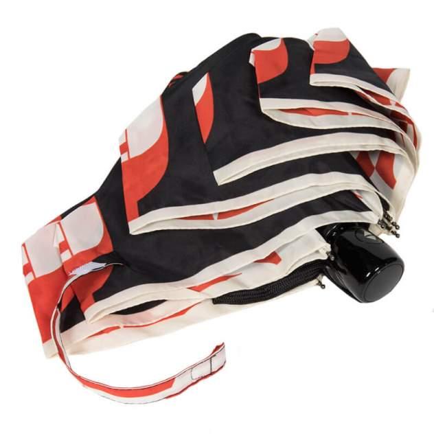 Зонт складной женский автоматический FERRE MILANO 5005-OC белый/черный/красный
