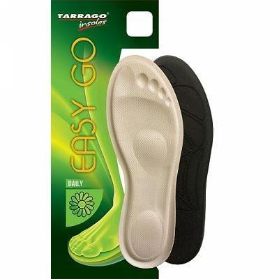 Стельки для обуви TARRAGO EASY GO анатомические с эффектом памяти р.37-38