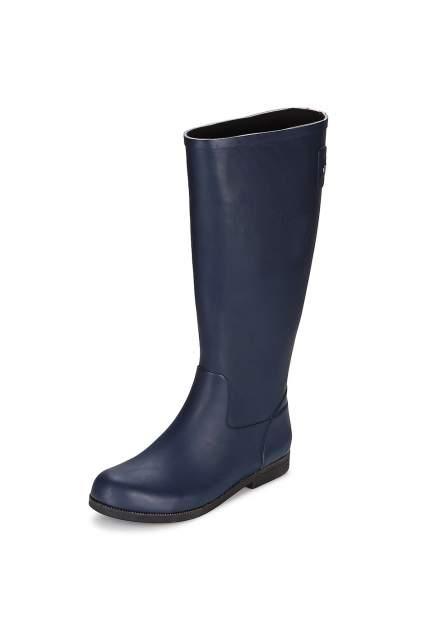 Резиновые сапоги женские SWIMS Stella Riding Boots голубые 6 US