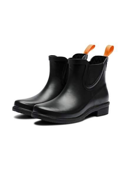 Резиновые сапоги женские SWIMS DORA BOOT черные 7 US