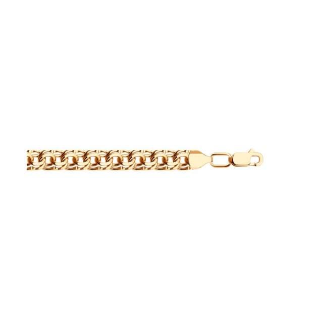 Браслет мужской SOKOLOV из золочёного серебра 985140904 20