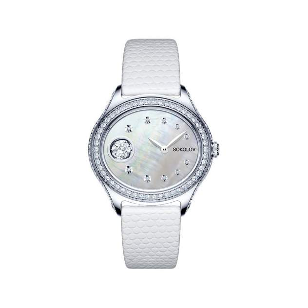 Женские серебряные часы SOKOLOV 145.30.00.001.01.01.2