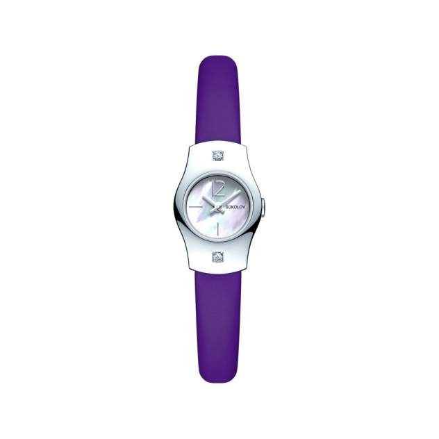 Женские серебряные часы SOKOLOV 123.30.00.001.05.06.2