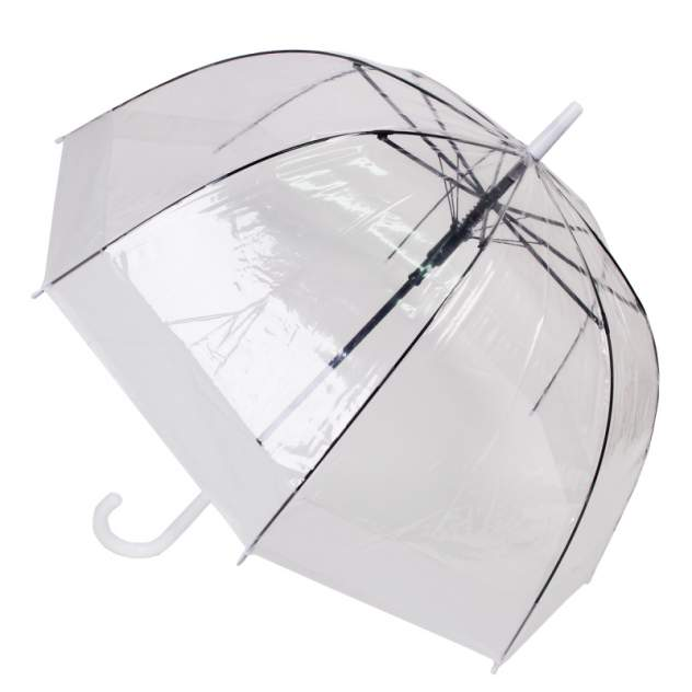 Зонт женский Zemsa 943-1 прозрачный