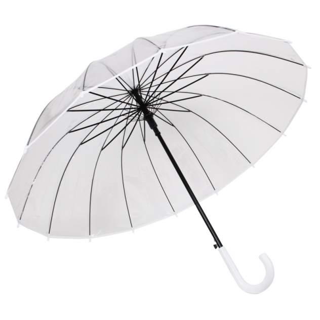 Зонт женский Zemsa 942-1 прозрачный