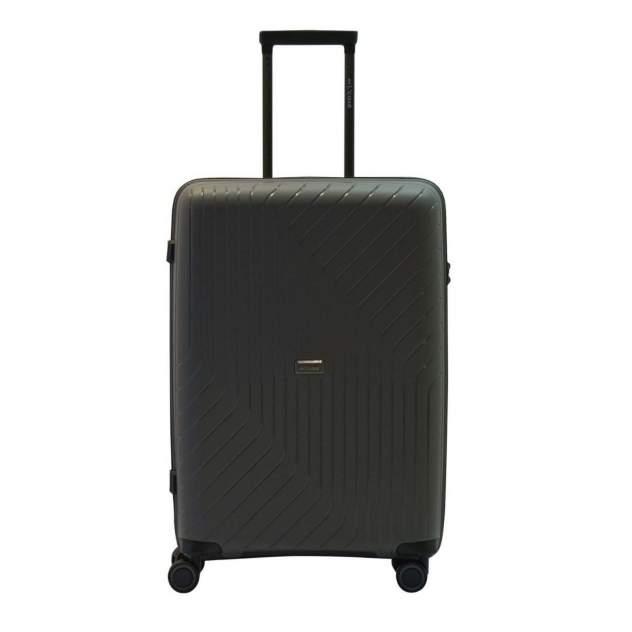 Чемодан L'case Madrid Gray (серый) L (52*31,5*76,5) 102л