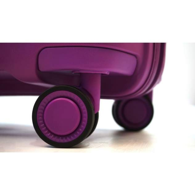 Чемодан L'case Monaco Purple (фиолетовый) L (53*31,5*77,5) 102л