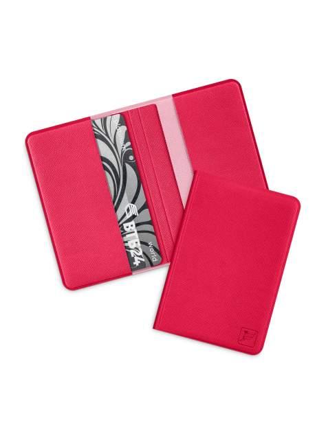 Защитный RFID футляр для карт Flexpocket малиновый