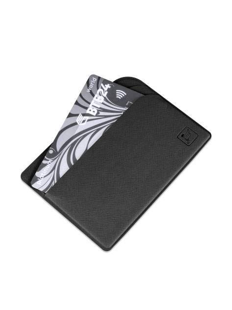 Кредитница/футляр для пластиковых карт Flexpocket черный