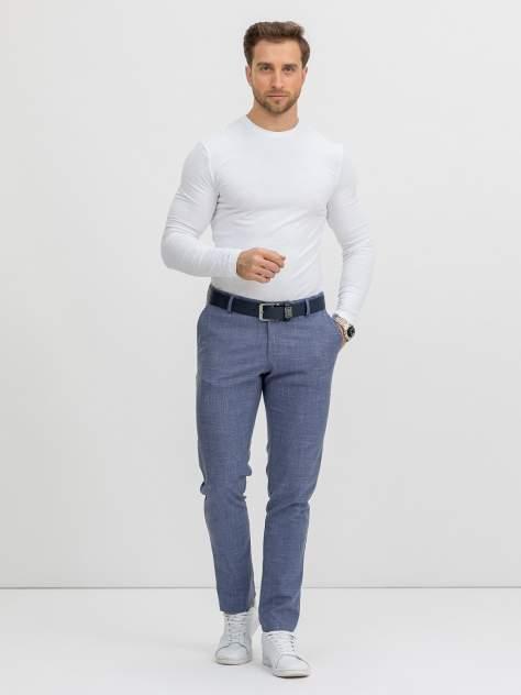 Классические брюки Marc De Cler B-Chinos 24881Blue-182, голубой, синий