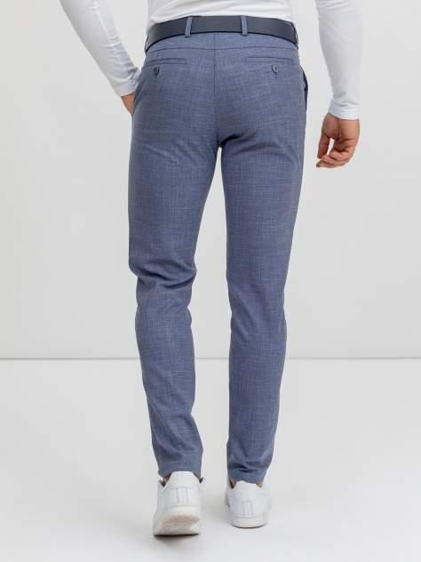 Классические брюки мужские Marc De Cler B-Chinos 24881Blue-182 голубые; синие 50 RU