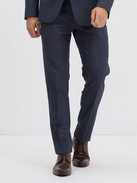 Классические брюки мужские Marc De Cler B-Prius 22949Navy-182 синие 44 RU