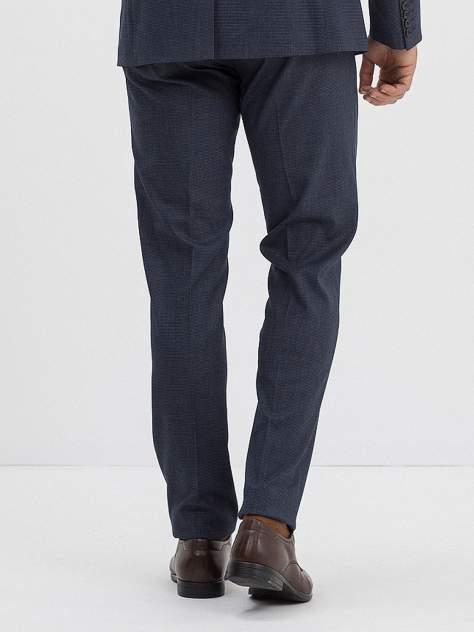 Классические брюки мужские Marc De Cler B-Prius 22949Navy-176 синие 46 RU