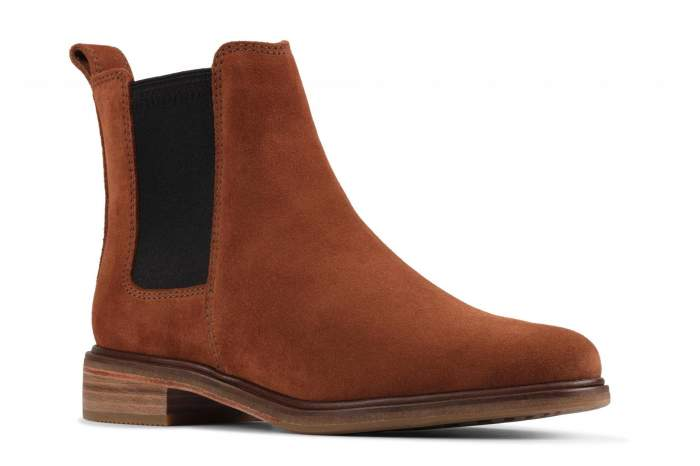 Ботинки женские Clarks Clarkdale Arlo 26154716, коричневый