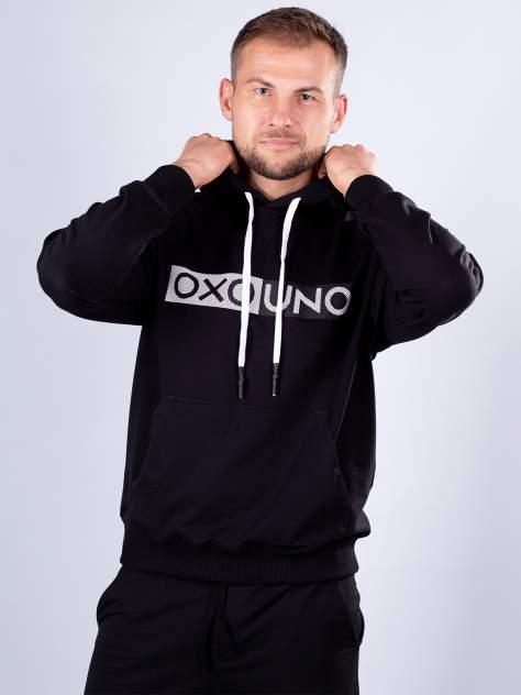Толстовка мужская Oxouno OXO 0681-227 FOOTER 01, черный