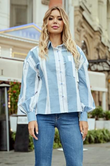 Рубашка женская BEZKO БП 3616 НЕБЕСНая голубая 46