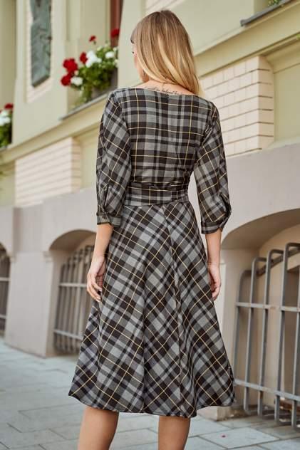 Платье женское BEZKO БП 3614 СЕРО-ЧЕРНое серое 54