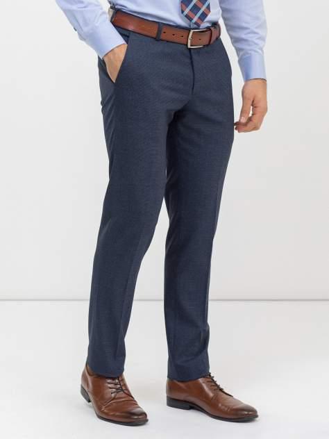 Классические брюки мужские Marc De Cler B-Prius 24865Navy-182 синие 46 RU