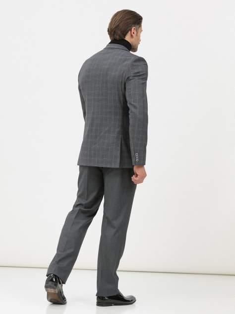 Классические брюки мужские Marc De Cler B-Prius 24761Grey-176 серые 46 RU