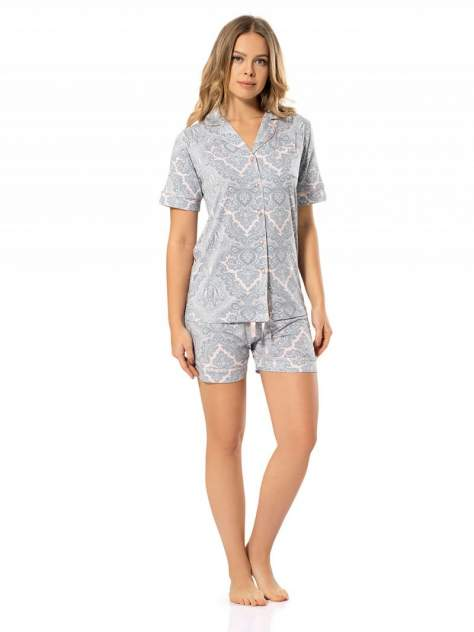 Пижама Turen 3298, серый
