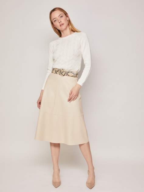 Женская юбка Zolla z0213278772511000, бежевый