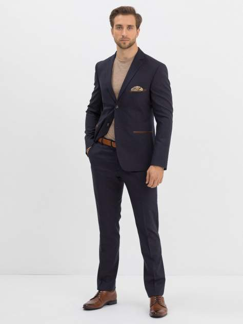 Мужской костюм Marc De Cler Ks24865Brown-182, коричневый, синий