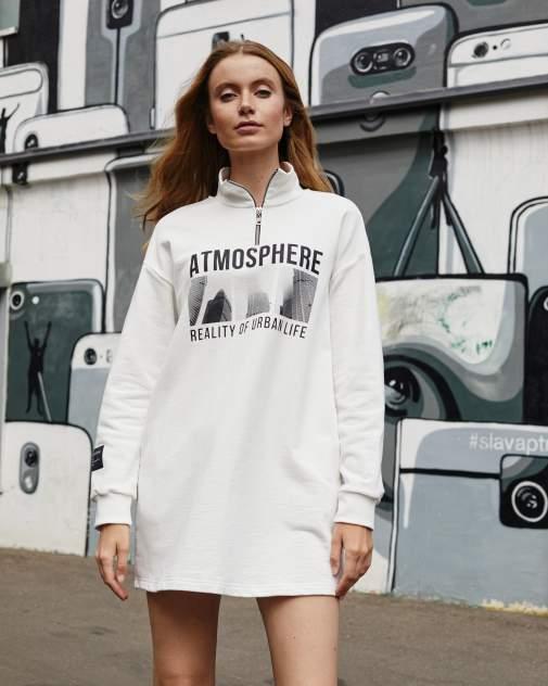 Женское платье BARMARISKA Atmosphere, белый