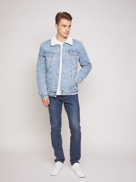 Мужская джинсовая куртка Zolla z011325D7R01350D0, голубой