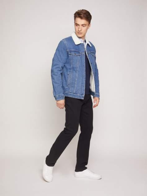 Мужская джинсовая куртка Zolla z011325D7R01350D0, синий