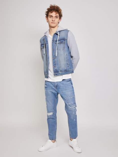 Мужская джинсовая куртка Zolla z210315D5Y01350D1, синий