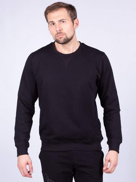 Джемпер мужской  Oxouno OXO 0221 FOOTER 01 с, черный