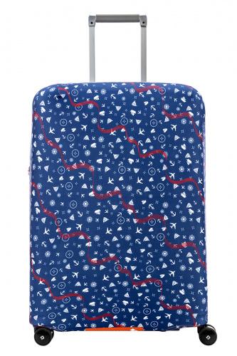 Чехол для чемодана Routemark Trav240, синий