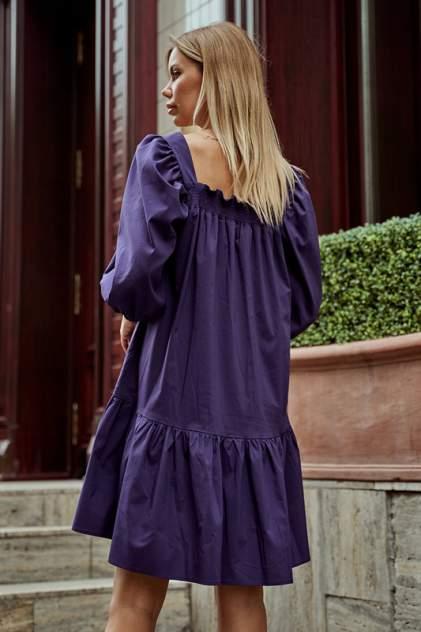 Платье женское AVEMOD AV 977 ФИОЛЕТОВое фиолетовое 46