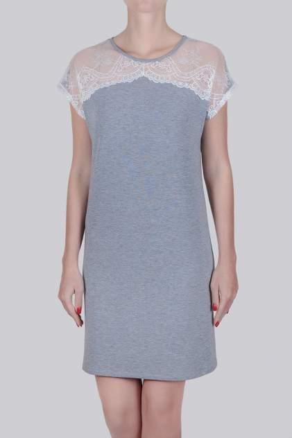 Домашнее платье Литвин 0592, серый