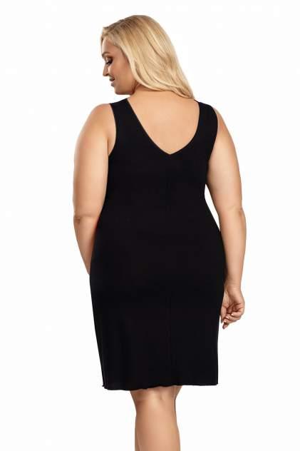 Ночная сорочка женская Donna Patrizia plus черная 3XL