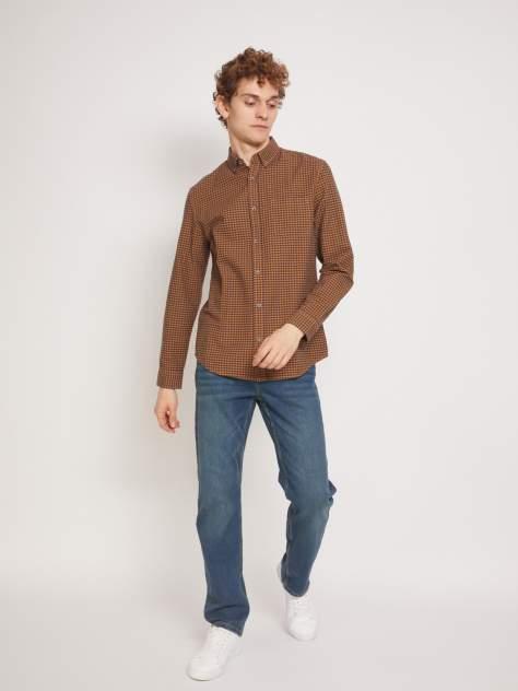 Рубашка мужская Zolla z01133219106325C0, коричневый