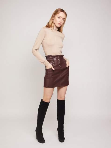 Женская юбка Zolla z2213378530438900, коричневый