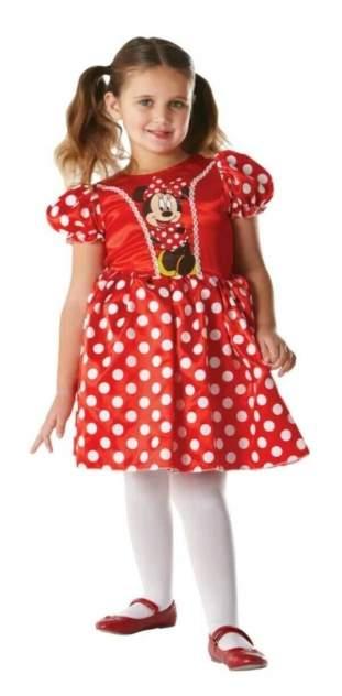 Красный классический детский костюм Rubies Минни Маус, р. S-L
