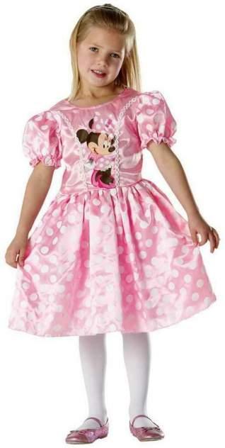 Карнавальный костюм Rubies Минни Маус, цв. розовый р.122