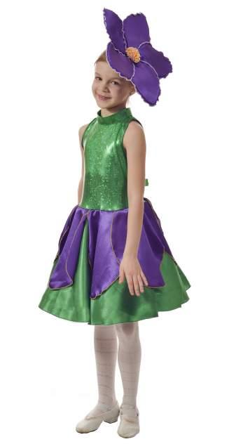 Карнавальный костюм Птица Феникс, цв. зеленый