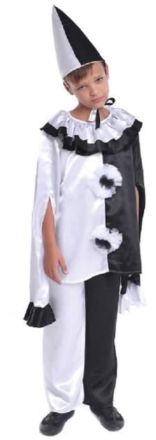 Карнавальный костюм Птица Феникс, цв. белый, черный
