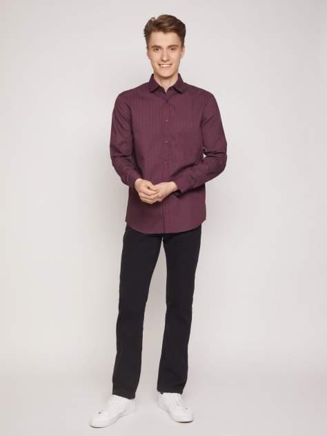 Рубашка мужская Zolla z01132215905201P0, бордовый
