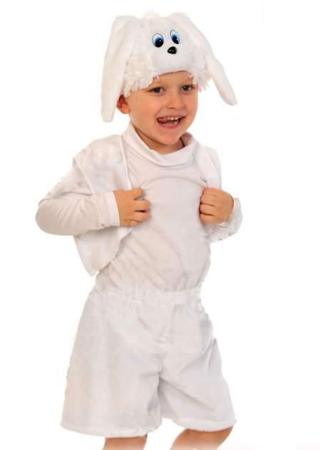 Карнавальный костюм Карнавалофф, цв. белый