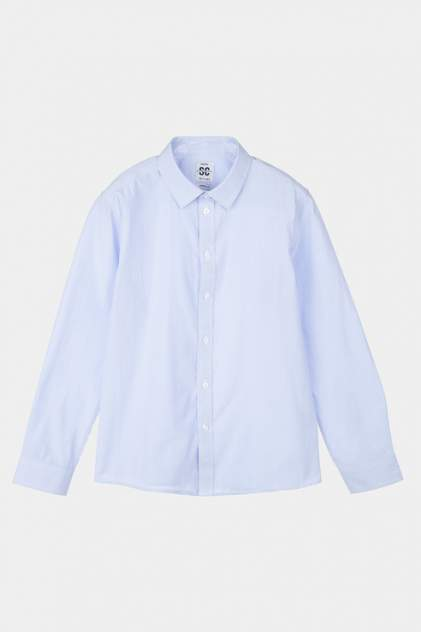 Рубашка PlayToday 22011028_голубой р.134