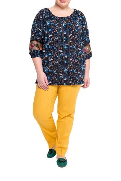 Блуза женская KR 4256 синяя 48