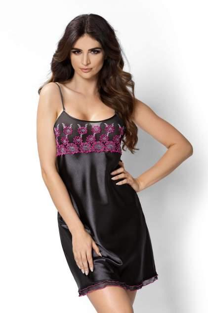 Ночная сорочка женская Donna Janette черная M