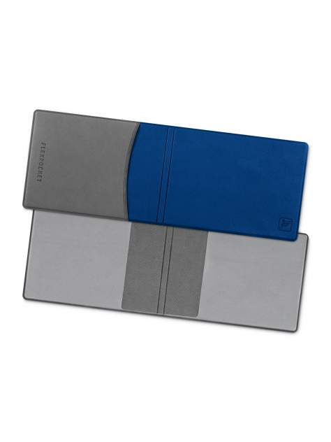 Обложка для удостоверения/студенческого билета Flexpocket KOY-02 синяя