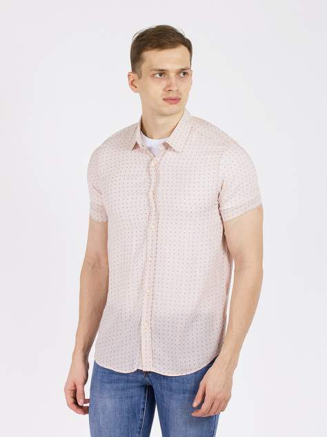 Рубашка мужская DAIROS GD8110117 бежевая 2XL